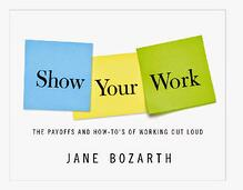 Jane Bozarth Show Your Work cover