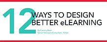 eLearning Instructional Design Tips Infographic