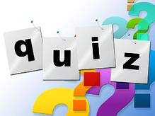 A virtual classroom training quiz