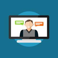Engaging virtual classroom facilitator