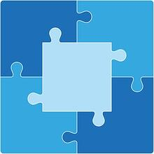 blended learning puzzle pieces