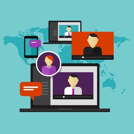 Virtual Classroom Modern Blended Learning