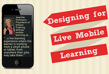 Designing for Live Mobile Learning