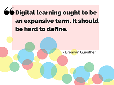 Digital learning definition
