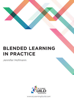 eLearning Guild Blended Learning in Practice report preview