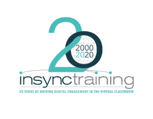 InSync Training 20 Year Anniversary Logo