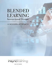 Blended Learning Instructional Design A Modern Approach whitepaper cover