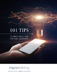 101 Tips to Motivate the Virtual Learner whitepaper