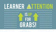Grabbing Learner Attention in Corporate Training Infographic