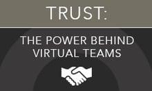 Virtual Team Success Process Infographic