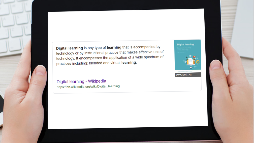 What's in a Name? Digital Learning
